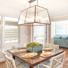 Beach Style Dining Room by Brooke Wagner Design