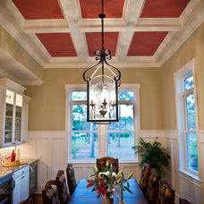 Traditional Dining Room by Whitney Blair Custom Homes