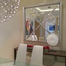 Contemporary Dining Room by R Design Studio, Inc.