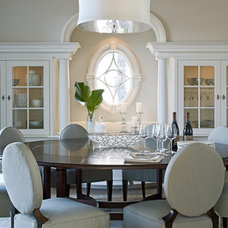 Traditional Dining Room by TMS Architects