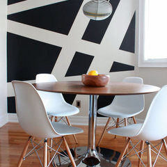 modern dining room by Leclair Decor