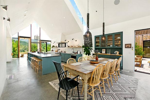 Farmhouse Dining Room by Sherri J Photography