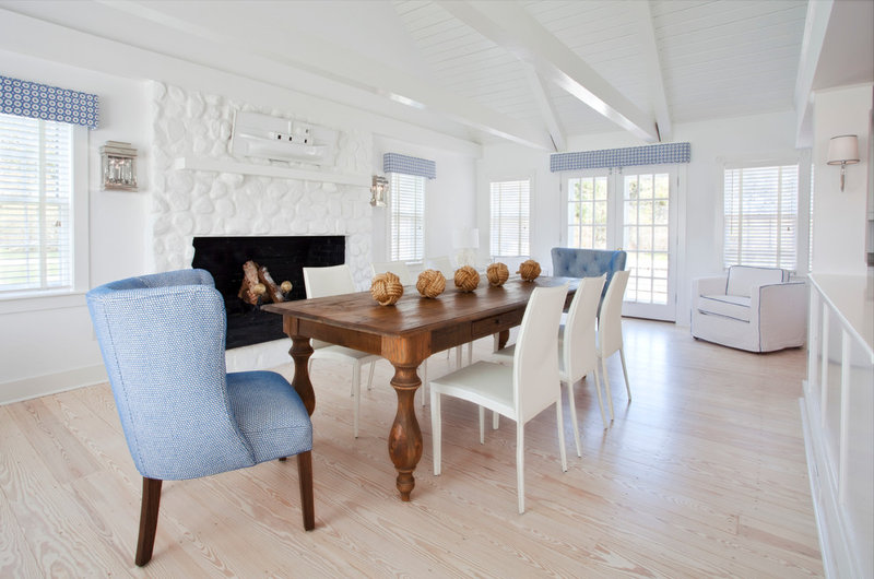 Beach Style Dining Room by Christopher's Home Furnishings of Nantucket, Inc.