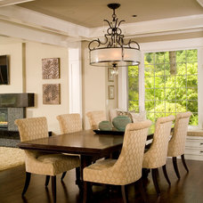 Contemporary Dining Room by Choice Construction