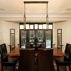 Contemporary Dining Room by Authentic Pine Floors, Inc.