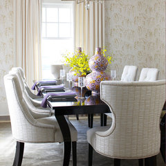 contemporary dining room by MuseInteriors
