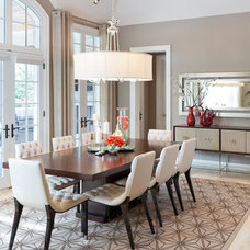 Contemporary Dining Room by David Small Designs