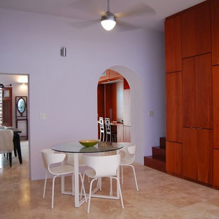 Mediterranean dining room in Other.