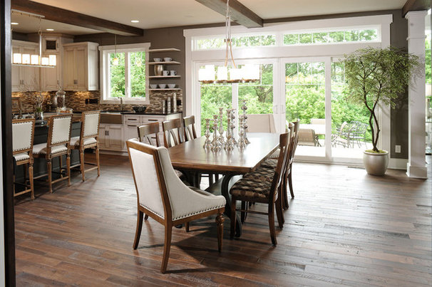 Traditional Dining Room by Weaver Custom Homes