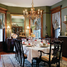 Traditional Dining Room by Carlson Galleries