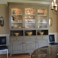 Traditional Dining Room by Michael Breinholt Cabinetry