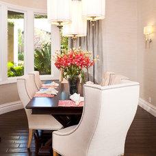 Contemporary Dining Room by P. Scinta Designs, LLC