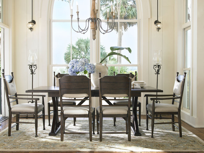 Eclectic Dining Room on location