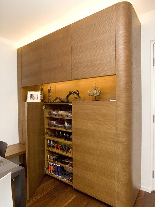 Built In Shoe Cabinet   Houzz