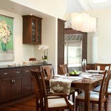 Contemporary Dining Room by Jessica Risko Smith Interior Design