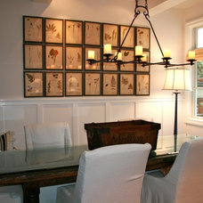 Beach Style Dining Room by Kelley & Company Home