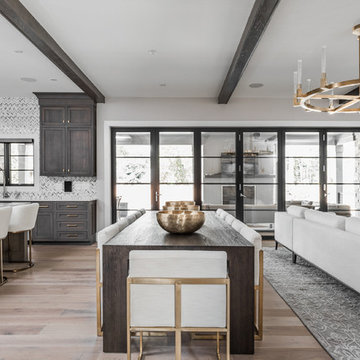 Open Concept Dining Table