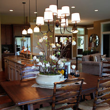 Contemporary Dining Room by K Architectural Design, LLC