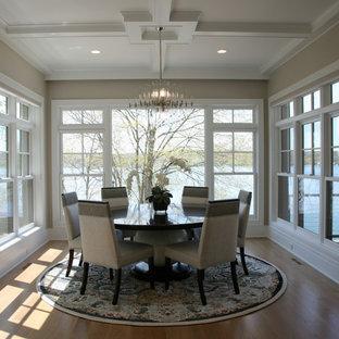 open concept lake house