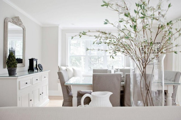 Contemporary Dining Room by Lux Decor