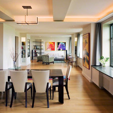 Contemporary Dining Room by Electronics Design Group, Inc.