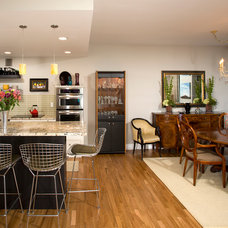 Eclectic Dining Room by Four Brothers LLC