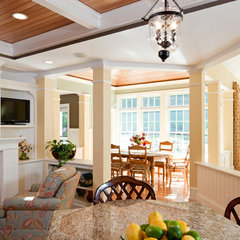 traditional dining room by Howell Custom Building Group