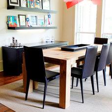Modern Dining Room by Studio B Designs