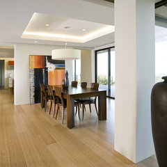 contemporary dining room by De Mattei Construction