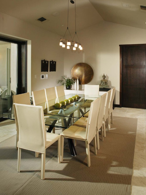 Example Of A Trendy Kitchen/dining Room Combo Design In Sacramento Part 78