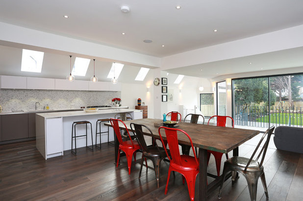 Contemporary Dining Room by LWK Kitchens London