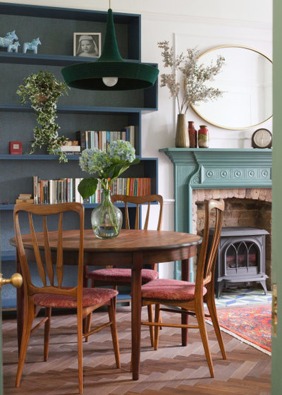 Transitional Dining Room by Brooke Copp-Barton | Home Interior Design