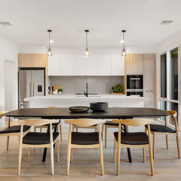 Open Plan Living, Kitchen and Dining Area