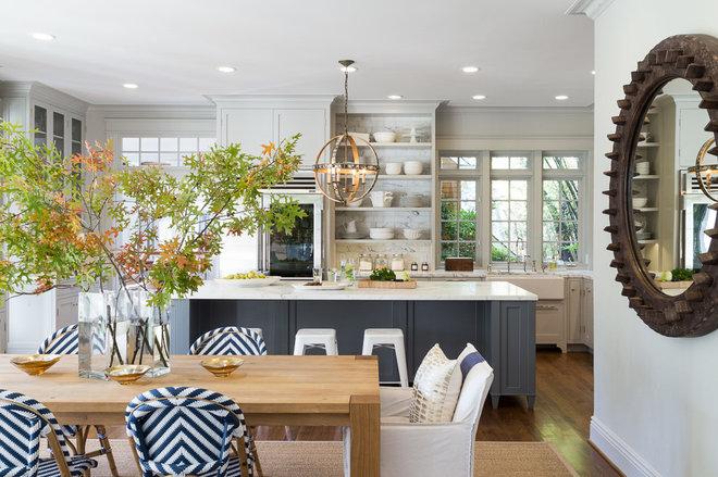 Beach Style Kitchen by Heydt Designs