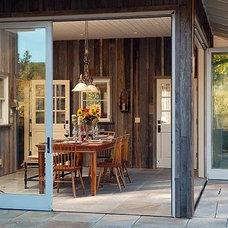Farmhouse Dining Room by CahillStudio Sonoma