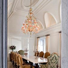 Traditional Dining Room by McIntosh Poris Associates