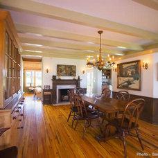 Traditional Dining Room by Birdseye Design