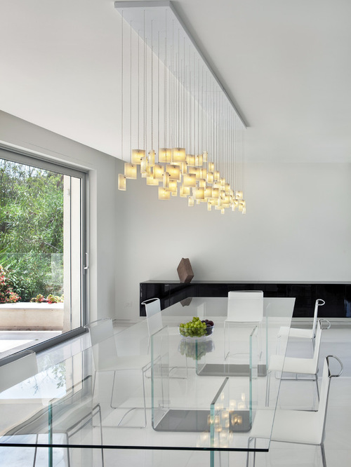 modern dining chandelier contemporary dining pendant lighting - Modern Dining Room Pendant Lighting