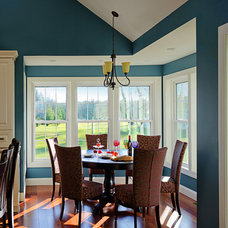 Traditional Dining Room by Sheridan Interiors, Kitchens and Baths