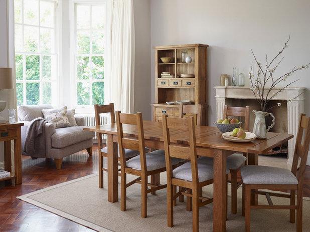 Transitional Dining Room By Oak Furnitureland