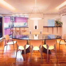 Contemporary Dining Room by Original Vision Limited