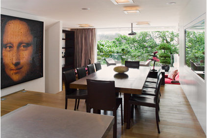 modern dining room by Original Vision Limited