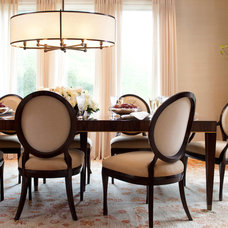 Traditional Dining Room by Michael Merrill Design Studio, Inc