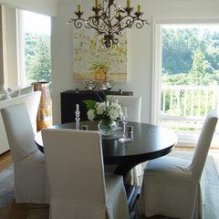 traditional dining room by Home Systems , Wendi Zampino