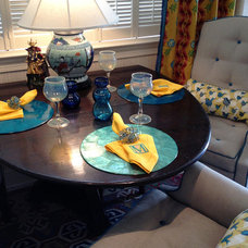 Traditional Dining Room by Lucas Patton Design