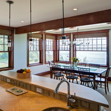 Traditional Dining Room by Kaplan Thompson Architects