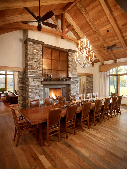 Country Dining Room Design Ideas Renovations amp Photos  : f891243f0084106a8193 w500 h666 b0 p0 rustic dining room from www.houzz.com.au size 500 x 666 jpeg 84kB