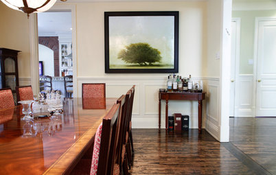 My Houzz: Culture and History Enrich a Traditional Montreal Home