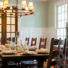 Farmhouse Dining Room by Pfeffer Torode Architecture