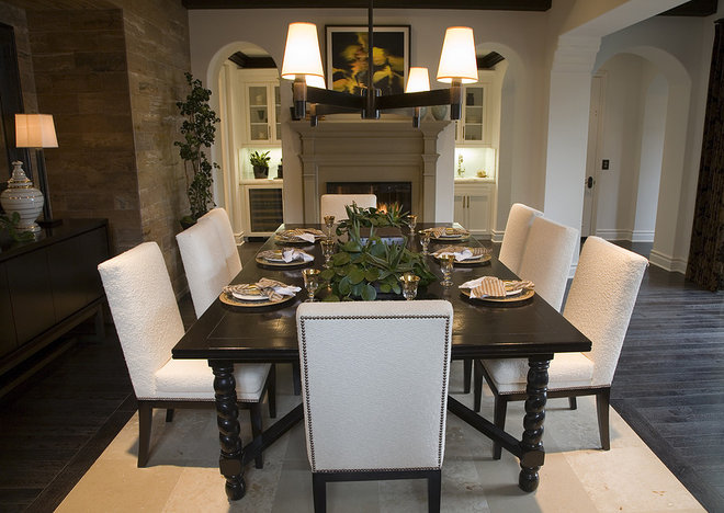 Contemporary Dining Room by Gorgeous Homes, Inc